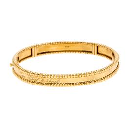 Van Cleef & Arpels Perlée Signature 18K Yellow Gold Bracelet M