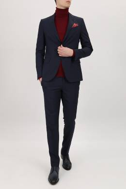 Темно-синий костюм-двойка Lardini 2453178190