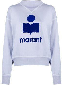 Isabel Marant Etoile джемпер с логотипом SW003320P035E