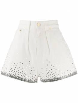 Alberta Ferretti шорты с пайетками 03261688