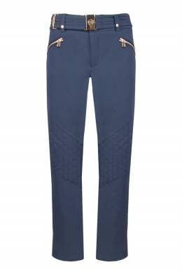 Синие лыжные брюки со стегаными вставками Bogner 1936178280