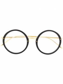 Linda Farrow очки в круглой оправе LFLC239C1OPT