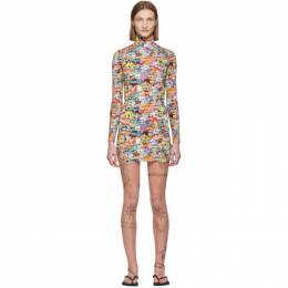 Vetements Multicolor Vetemonster Dress SS20DR295