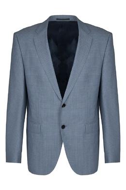 Серый костюм в клетку Hugo Boss 622179028