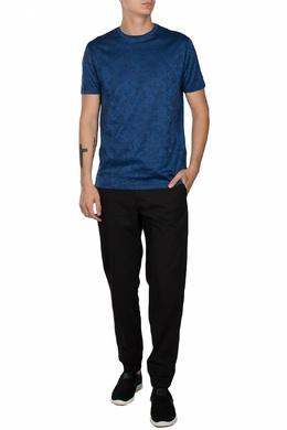 Черные брюки с манжетами на резинке Versace Collection 1222179117