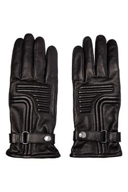 Стеганые перчатки из кожи Prada 40179779