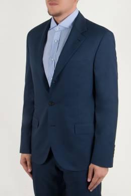 Классический брючный костюм темно-синего цвета Brunello Cucinelli 1675179829
