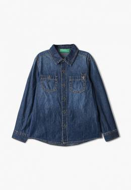 Рубашка джинсовая United Colors Of Benetton 5DHJ5QHH0