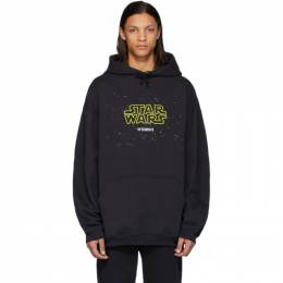 Vetements Black STAR WARS Edition Episodes Hoodie USW21TR012
