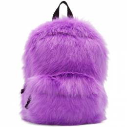 Vetements Purple Furry Backpack SS20BA008