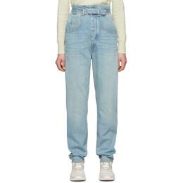 Isabel Marant Etoile Blue Gloria Jeans 20PPA1550-20P016E