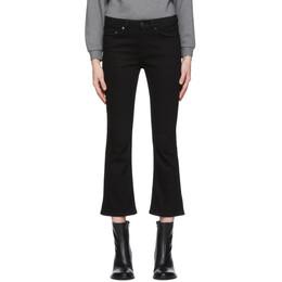 Victoria, Victoria Beckham Black Kick Flare Jeans 2120DJE000829A
