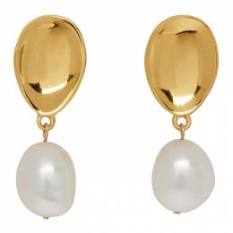 Sophie Buhai Gold Everyday Drop Pearl Earrings Everyday Drop Pearl E
