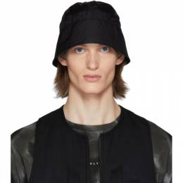 1017 Alyx 9Sm Black Browns Edition Narrow Buckle Bucket Hat AAUHA0029FA01BEG0003