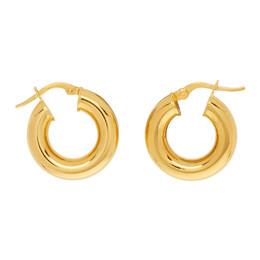 Sophie Buhai Gold Tiny Hoop Earrings Tiny