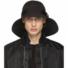 Sacai Black Brim Hat 20-0069S