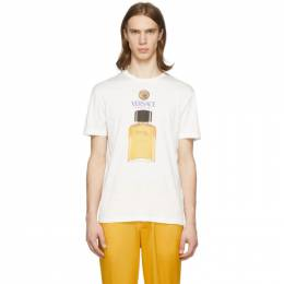 Versace Off-White Perfume T-Shirt A85575 A228806