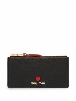 Miu Miu клатч с подвеской 5MB0062BC3