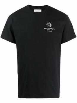 Societe Anonyme футболка с круглым вырезом и логотипом SA3TEEM86CN100