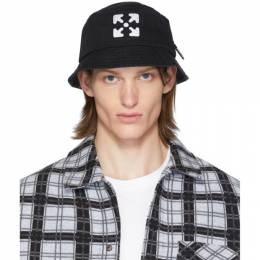Off-White Black and White Arrows Bucket Hat OMLA010R204000201001