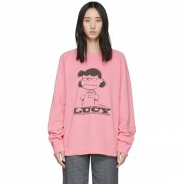 Marc Jacobs Pink Peanuts Edition Lucy Sweatshirt C6000052