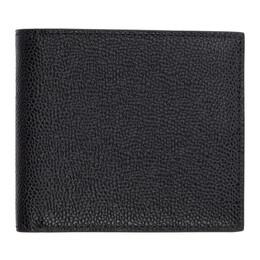 Thom Browne Black Classic Billfold Wallet MAW023A-00198
