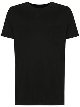 Osklen футболка с карманом 52365