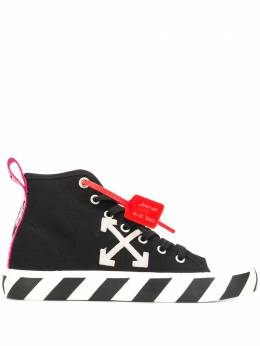 Off-White MID TOP SNEAKER BLACK WHITE OMIA119S20D330381001