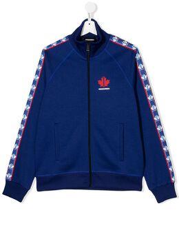 Dsquared2 Kids спортивная куртка с логотипом DQ03YDD00X5