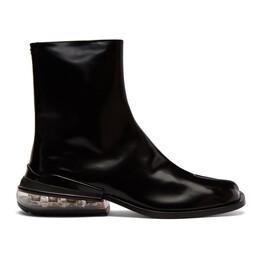 Maison Margiela Black Airbag Tabi Boots S57WU0151 P1993