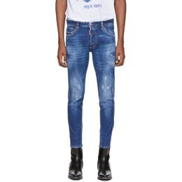 Dsquared2 Blue Skinny Dan Jeans S79LA0005 S30663