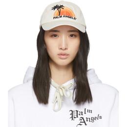 Palm Angels Off-White Sunset Cap PMLB009S202240164788