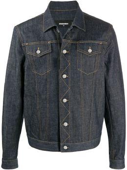 Dsquared2 джинсовая куртка прямого кроя S74AM1040S30144