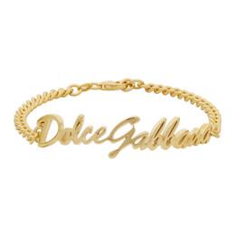 Dolce&Gabbana Gold Logo Bracelet WBLL2A W5YME
