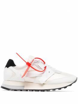 Off-White кроссовки Runner с логотипом OWIA163R20D801110101