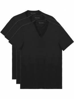 Prada набор из трех футболок UJM493S181ILK