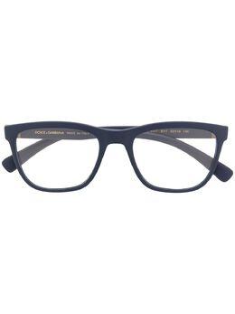 Dolce & Gabbana Eyewear очки в квадратной оправе DG5047