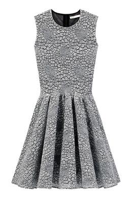 Короткое платье с цветочной вышивкой Maje 888182065