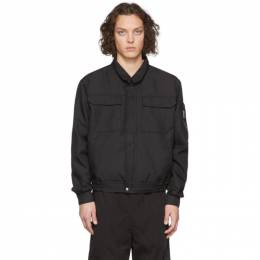 Random Identities Black Japanese Workwear Harrington Jacket SW-14