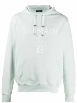 Balmain худи с логотипом TH03823J078