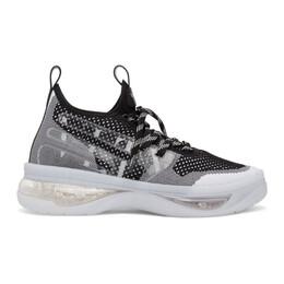 Valentino Black and White Valentino Garavani Cloudknit Air Sneakers TY2S0D01YAG