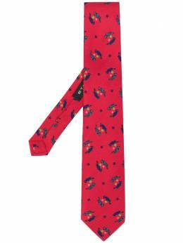 Etro галстук с принтом 120265115