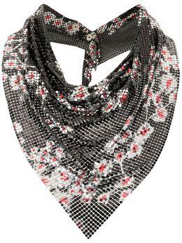 Paco Rabanne платок с цветочным принтом 20PBB0018MET075