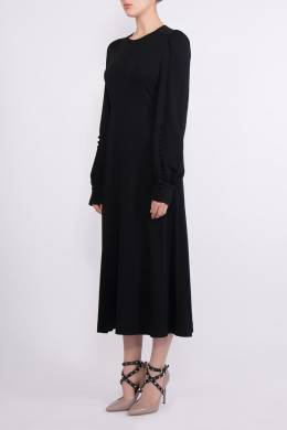 Черное платье с пуговицами Chloe 360182253