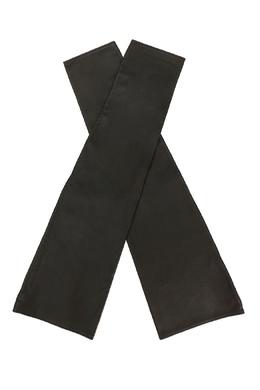 Черные митенки из кожи Jil Sander 413182815