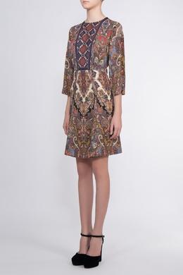 Платье с узором Etro 907182161