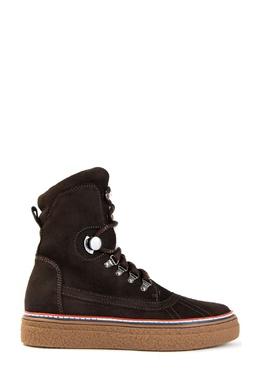 Коричневые ботинки Moncler 34182138