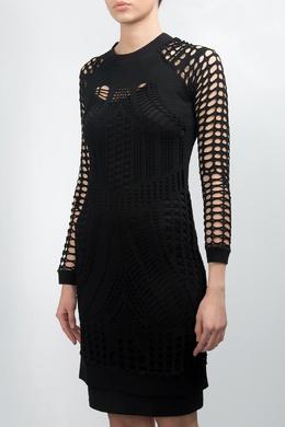 Черное ажурное платье Forever Unique 2146182051