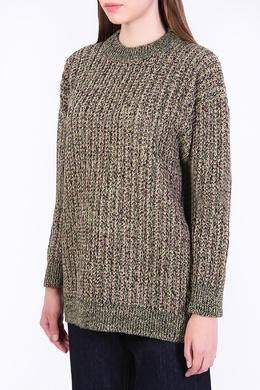 Зеленый свитер Prada 40182209