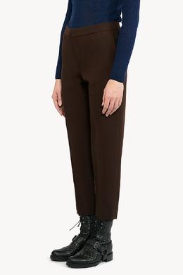 Коричневые брюки Chloe 360182245